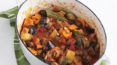 This hearty country dish from the Provence region of France is an easy mix of seasonal vegetables, garlic, and olive oil.