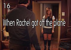And this is probably THEE best moment in the entire series. Love it. {Friends Things We Remember}