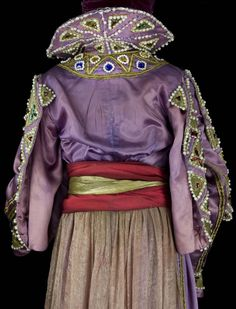 Léon Bakst - Ballets Russes - Costume - Shah Zeman - Shéhérazade - 1910