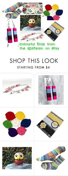 Colourful Finds from the SPSTeam on #Etsy by dawn-whitehand on Polyvore featuring etsy, handmade and spsteam