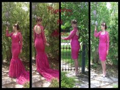 Running in heels Pink Martini, My Design, Backless, Running, Formal Dresses, My Style, Heels, Collection, Fashion