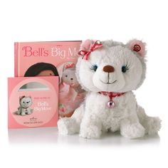 34.95 Bell's big move CD, Book and Bell Puppy- Hallmark
