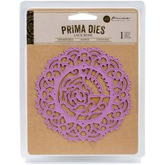 Prima Marketing Metal Die Lace Rose