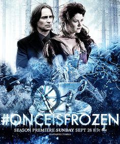 Rumbelle Frozen Poster