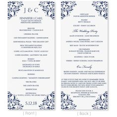 Best Greek Orthodox Wedding Program Photos - Styles & Ideas 2018 ...