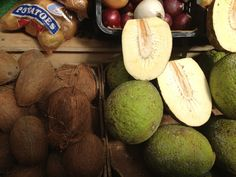 Exotic fruits found in Brixton market