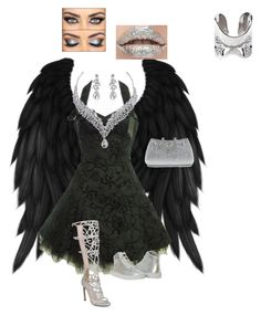 Untitled #16 by joanna-mena on Polyvore featuring polyvore, fashion, style, Becky Dockree Jewellery and clothing