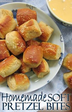 Recipe for Homemade Soft Pretzel Bites – A favorite junk food indulgence is soft pretzel bites: tiny pillows of salty, soft, chewy dough that tempt your taste buds. Make them at home for better-for-you junk food treats that are also easier on the wallet.