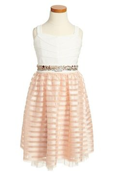 Roxette Jeweled Waist Dress (Big Girls) available at #Nordstrom