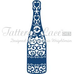 Tattered Lace Die Champagne Bottle | Hobbycraft