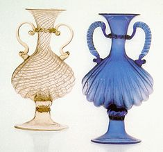 From the fourteenth to the seventeenth century: the Golden Age Venice Glass, Venetian Glass, Antique Glass, Murano Glass, Vases, Glass Museum, Vaseline Glass, Sugar Craft, Crystal Vase
