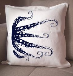 Another almost perfect pillow for Axel's nautical themed nursery. Now I just need a place to put it.