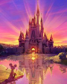 Disneyland castle ❤️