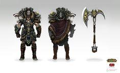 ArtStation - League of Legends: Woad King Darius, David Kegg