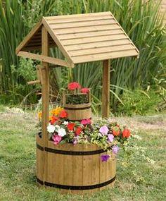 Woodland Wishing Well - art & decorations