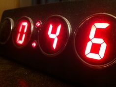 #watch #clock Digital Alarm Clock, Four Square, Cube, Shots, Watch, Decor, Clock, Decoration, Bracelet Watch