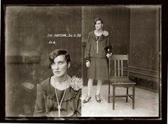 Vintage 1920's NSW mugshots - incredible