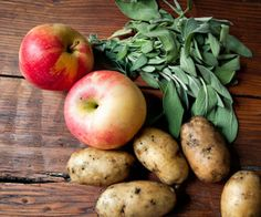Store potatoes with apples to keep them from sprouting. But keep them away from onions!