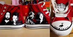 The Killers The Killers Converse by HFlores on @DeviantArt