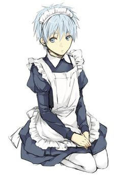 kuroko maid - who do you think planned this one? My vote is on momoi