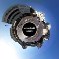 monastiraki square panorama