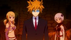 Loke - Fairy Tail Wiki, the site for Hiro Mashima's manga and anime series, Fairy Tail.