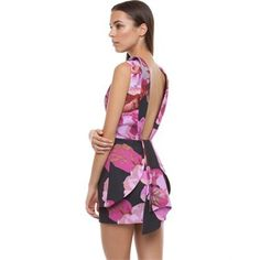 Cameo - Seen It All Dress (Pink Posey) from Little Sale Birdy
