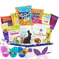 Amazon.com : easter stuffer Chocolate Peanuts, Chocolate Cookies, Chocolate Peanut Butter, Marshmallow Eggs, Box Bunny, Fig Bars, Banana Bars, Easter Specials, Candy Brands