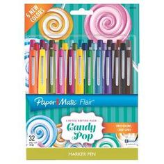 Paper Mate® Flair® Marker Pens Candy Pop, 32ct : Target