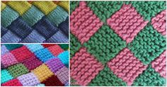 How To Knit: Garter Entrelac Knitting
