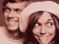 The Carpenters... Karen Carpenter had one of my favorite voices from my early years. Such a shame how social media impacts young women. She is definitely missed!