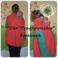 Freebook Der Trageponcho die-selbermachbine.blogspot.com