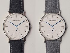 Rossling Y Co. Blue Hand Watches on Dappered.com