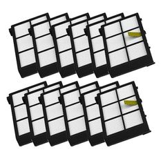 MZY LLC 12 Pack Hepa Filter Filters Replacement For irobot Roomba