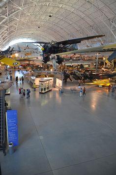 I would love a  Steven F. Udvar-Hazy Center: main hall panorama / http://www.holidaygoodness.com/steven-f-udvar-hazy-center-main-hall-panorama/