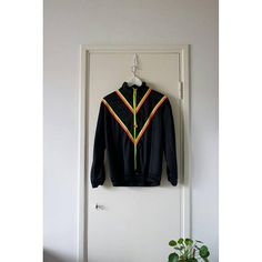 Hey, I found this really awesome Etsy listing at https://www.etsy.com/listing/531297540/vintage-black-neon-track-jacket