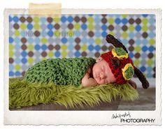 Hungry Caterpillar Set Newborn Halloween by TreasuredCreation, $39.99