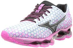 Mizuno Wave Prophecy 3 Running Shoe,White/Electric/Black,10.5 B US >>> To view further for this item, visit the image link.