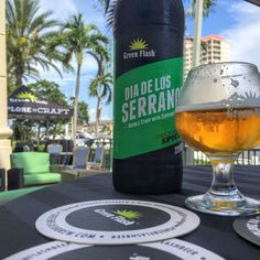 """""""Beautiful weather in #Tampa Perfect for enjoying @greenflashbeer on the patio. My Soul Style #IPA is a great #beer right now, my double #stout will be great later. Drinking with fellow #craftbeer bloggers for #bbc16"""" via @ALadyCrafter on Instagram"""