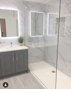 Corner Bathtub, Home Remodeling, My House, Shower, Bathroom, Inspiration, Sunshine, House Ideas, Rain