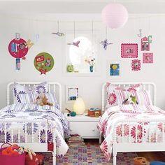 Habitaciones compartidas, ¿cómo decorarlas?