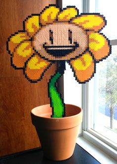 Huge Flowey (who the hell actually knows how many boards this will take up, like come on, look at it)