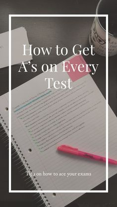 Tips on How to Ace Your Exams