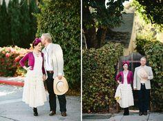 A Backyard Fiesta Wedding Celebration: Rebecca + Thomas