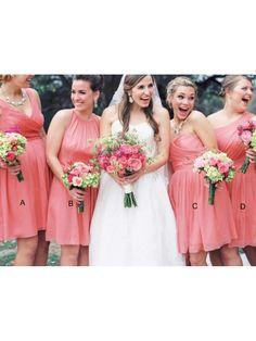 Short Chiffon Wedding Guest Dresses Bridesmaid Dresses 99601124