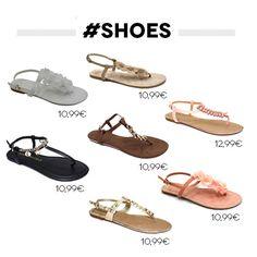 Dienstag ist Schuh Tag! ❤ Und wir brauchen wirklich neue Schuhe für unseren Sommerurlaub. Ihr auch? ;) #tuesdayshoesday #mycolloseum #accessoires @ www.mycolloseum.com