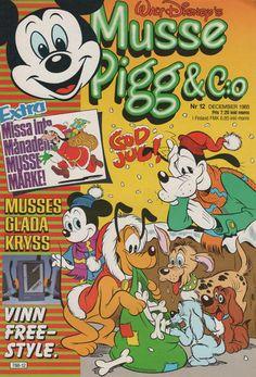 Cover for Musse Pigg & C:o (Hemmets Journal, 1980 series) #12/1985