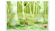 Painting a Secret Forest with Negative Painting Technique by Aga K . Learn To Paint, Learn To Draw, Aga, Painting Techniques, Picture Wall, Watercolors, Amazing Art, Art For Kids, Wall Art