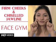 getlinkyoutube.com-Face Gym - Firm Cheeks & Chiselled Jawline HD   Asha Bachanni