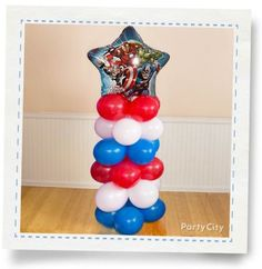 Awesome Avengers Balloon Columns How-To - Party City